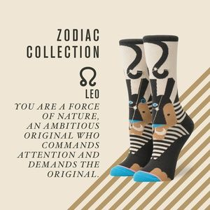 STANCE Women's Zodiac Collection LEO Crew Socks